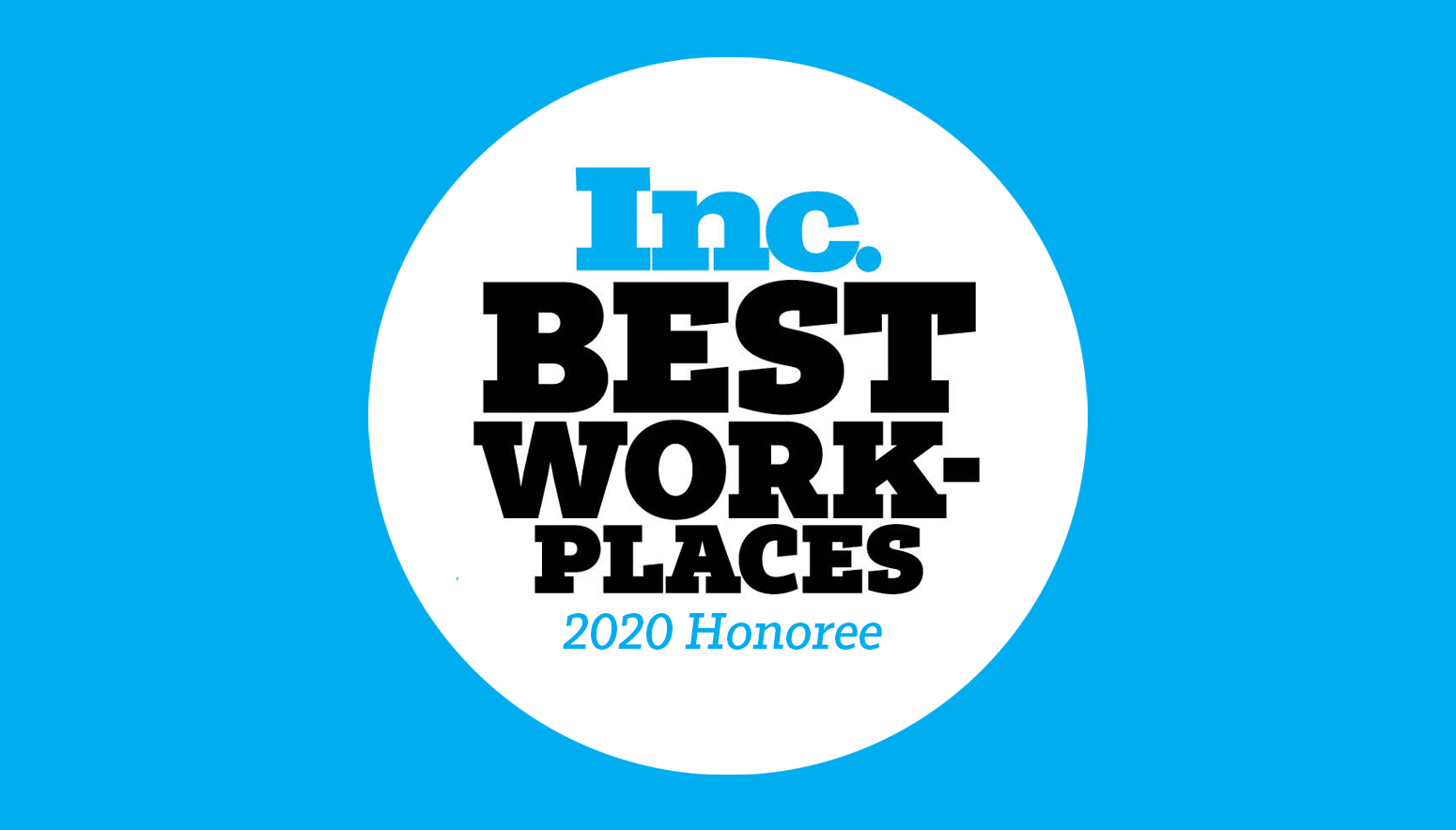 Inc 5000's 2020 Best Places to Work